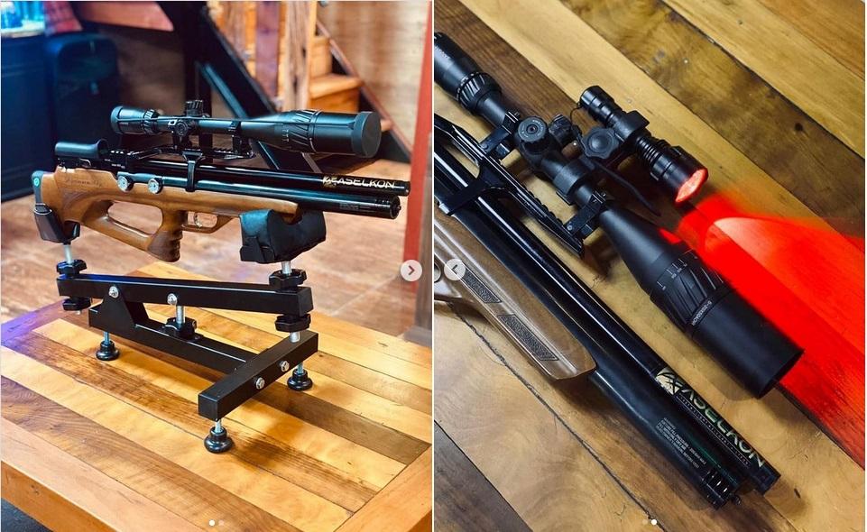 фото до и после ремонта винтовки aselkon