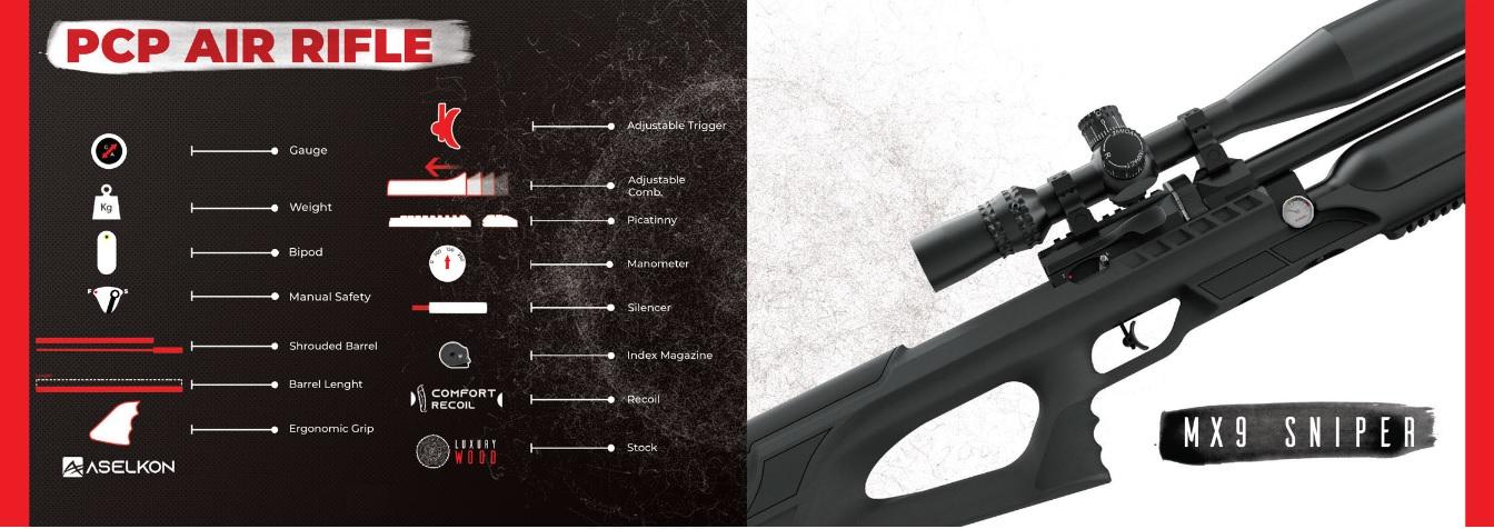 фото псп винтовки Aselkon