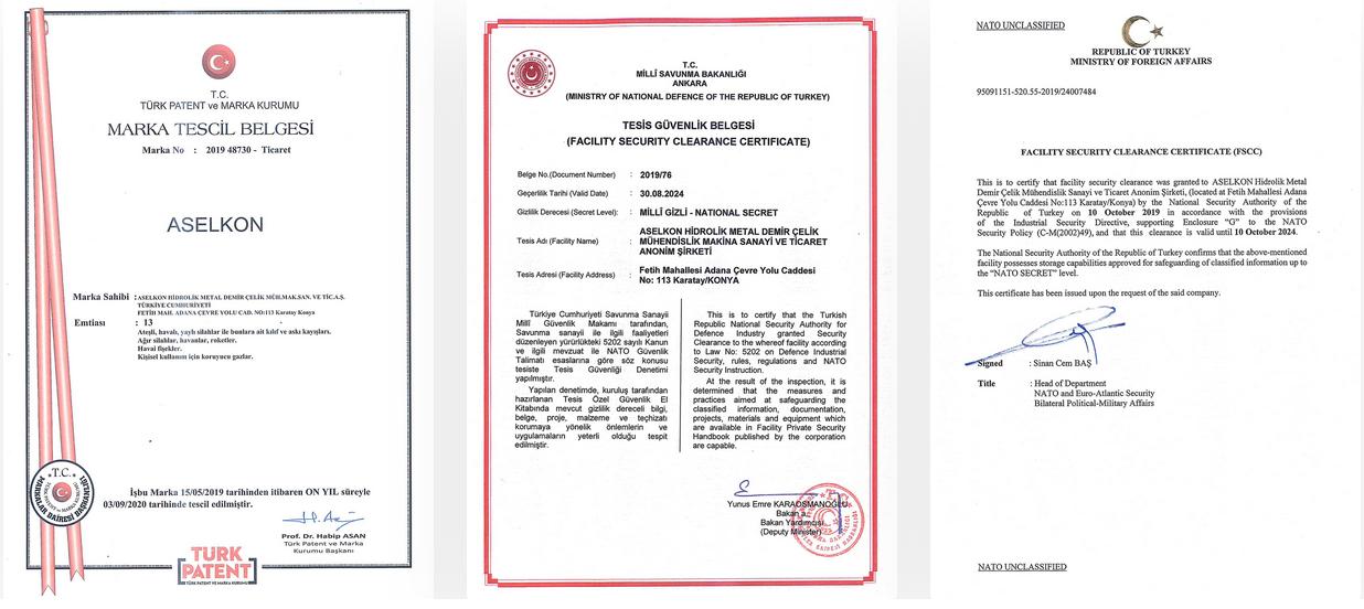 сертификат на pcp винтовки aselkon
