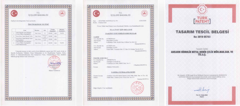 лицензия aselkon